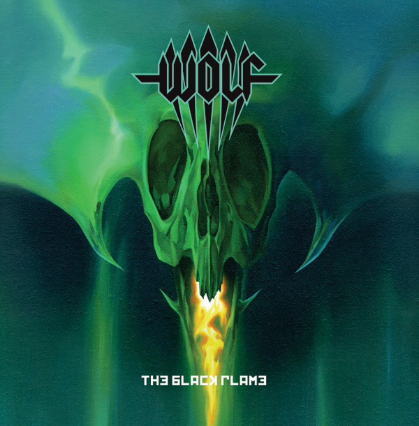 Evil black wolf art wolf has tapped legendary